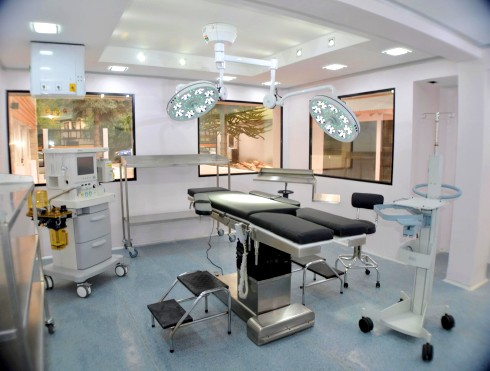 Quirófano oftalmología gases médicos centro medico los andes